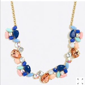 NWT J.Crew Colorful Statement Necklace